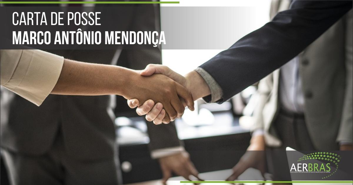 Carta de Posse - Marco Antônio Mendonça